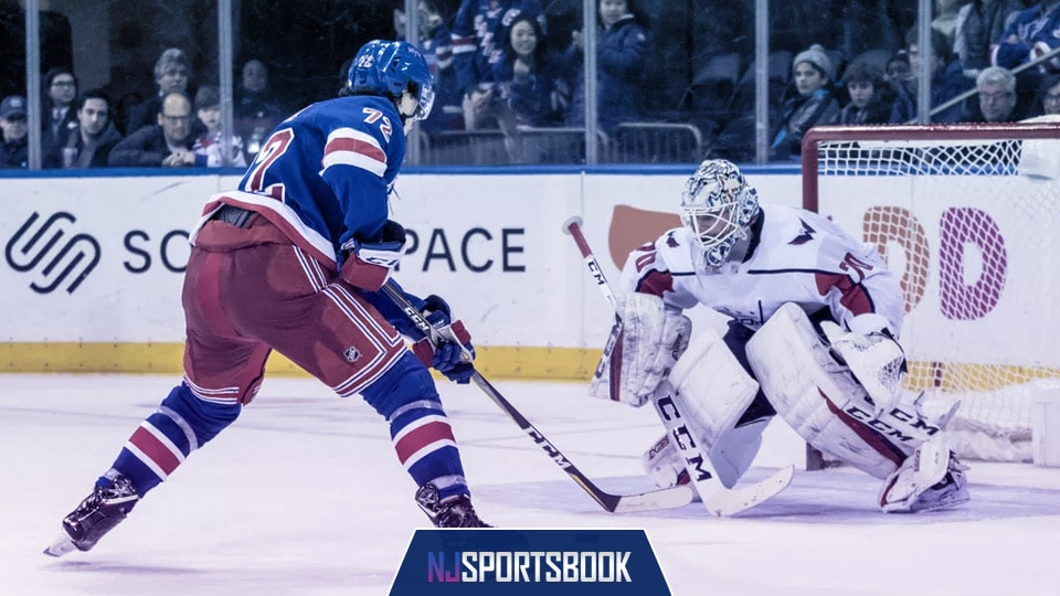 Thursday night's Washington Capitals at New York Rangers game is a pick'em on most scorebooks, but our betting preview will give you the edge!