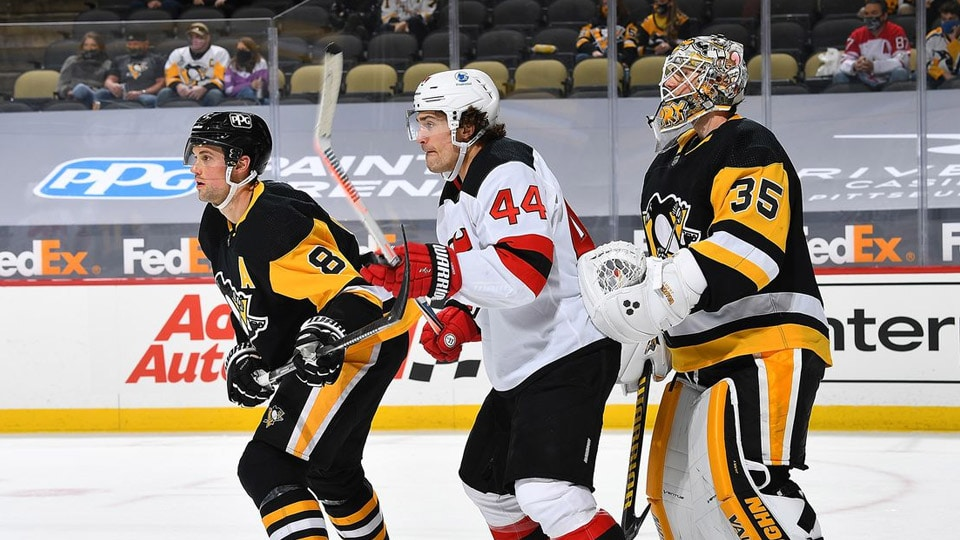 The New Jersey Devils take another shot at beating the Pittsburgh Penguins when the two square off again on Thursday night.