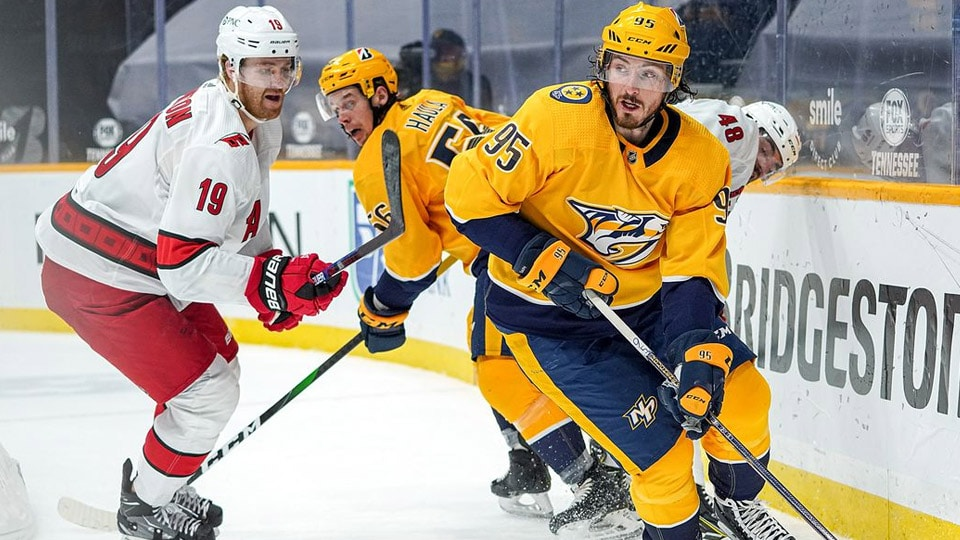 The Nashville Predators host the Carolina Hurricanes on Thursday night for Game 6 of their Central Division Playoff series.