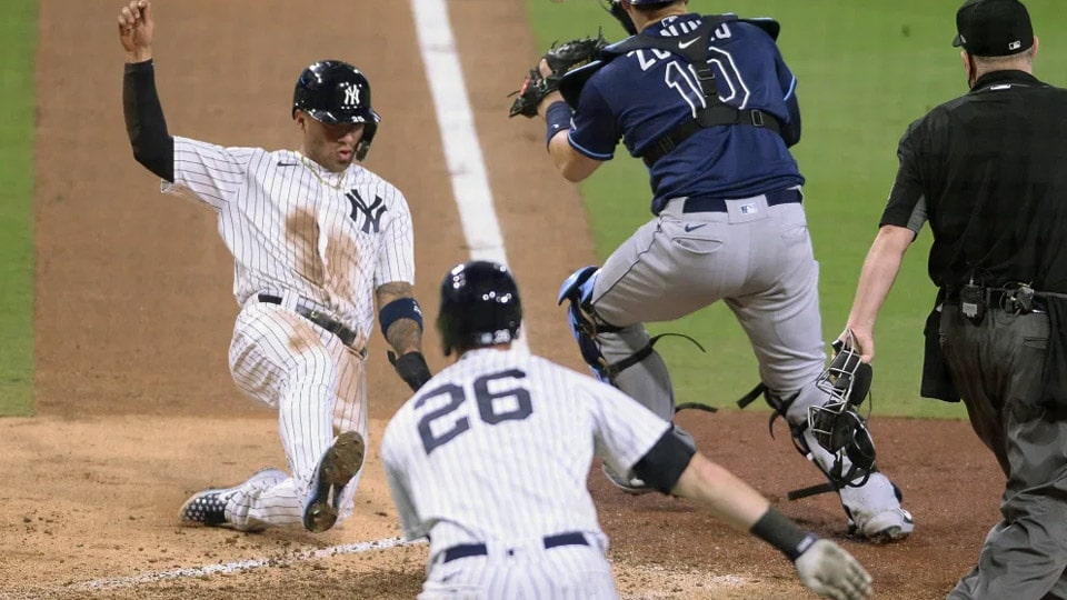 Last year's ALCS combatants meet up for the third series this season as the 18-16 New York Yankees play against the 19-17 Tampa Bay Rays.