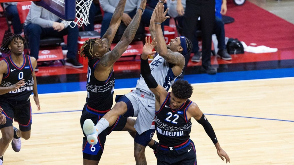 The 76ers have a chance to close out this series with a win over the Wizards and become the second team to advance to the Eastern Conference semifinals, joining the Milwaukee Bucks.