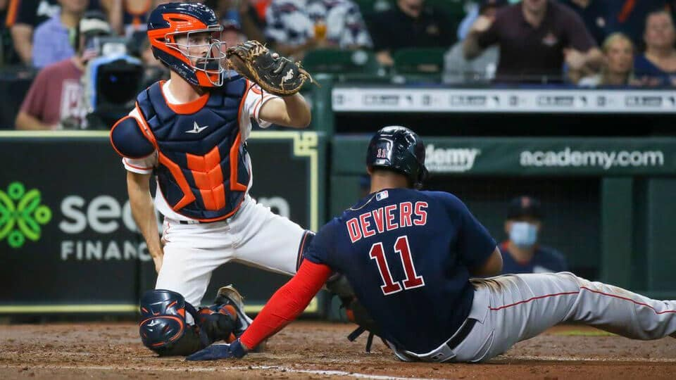 The Boston Red Sox host the Houston Astros in this heated contest between top teams in the AL where the bats have been alive for the Astros, which the Red Sox have struggled to contain.
