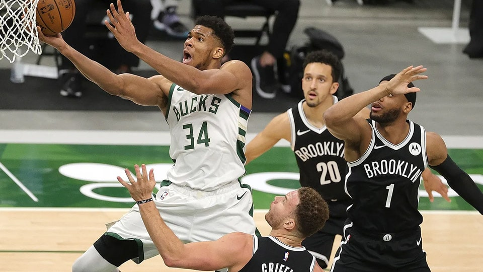 James Harden went down with an injury moments into Game 1 between the Milwaukee Bucks and Brooklyn Nets. Despite that, the Nets still won.