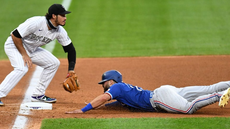 It's time for game two of the series between the Texas Rangers and the Colorado Rockies, with the Rangers as the visiting team